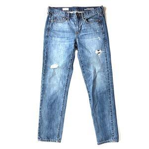 GAP Sexy Boyfriend Jeans, vintage wash, size 26